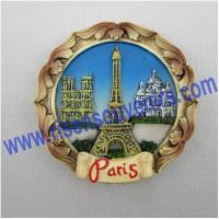 Buy cheap Paris design fridge magnet;Polyresin magnet from wholesalers