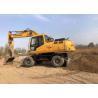 Buy cheap Weight 21800kg Used Wheel Excavator Hyundai 210 Construction Machine from wholesalers
