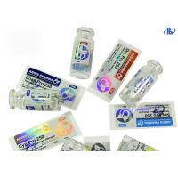 Buy cheap Anti Fake Hologram Security Labels Medical Industry Drug Package Use from wholesalers