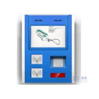 Buy cheap Touch Screen Smart Card Reader Wall Mounted Kiosk with Bill Validator and Printer from wholesalers