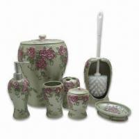 Buy cheap Romantic Polyresin Bathroom Accessories, Hand-made, Specially Designed for Women from wholesalers