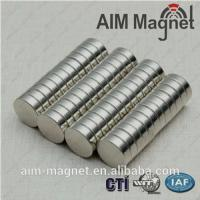 Buy cheap N52 Disc Strong 8x2mm Neodymium magnets from wholesalers