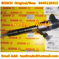 Buy cheap BOSCH Original and New Injector 0445110313 for Foton (Beijing Futian Envir.) from wholesalers