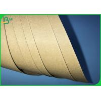 Buy cheap 250gsm 300gsm 350gsm High Toughness Brown Kraft Board For Packages Boxes from wholesalers