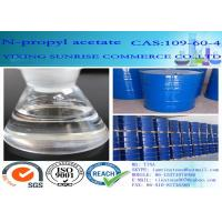 Buy cheap N Propyl Acetate Colorless Liquid Chemical Food Additives C5H10O2 CAS 109-60-4 from wholesalers