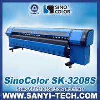 Buy cheap Fast Speed Printing Machine Solvent With Seiko 35PL Head from wholesalers