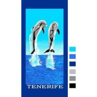Buy cheap Velour Reactive Printed Beach Towel from wholesalers