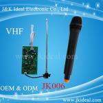 Buy cheap JK006 VHF wireless microphone module in wireles microphone system from wholesalers