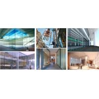 Buy cheap Decorative Flat Tempered Glass Panels For Air Conditioned Buildings from wholesalers