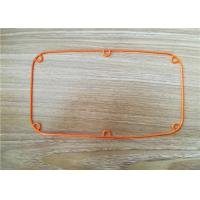China Nonstandard Silicone Custom Rubber Gaskets High Temperature Resistant on sale