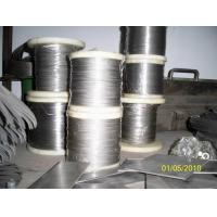 China GR7 GR9 GR12 GR23 Annealed Titanium Welding Wire In Spool With ISO on sale