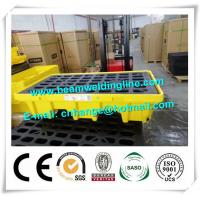 Buy cheap Safety Fire Resistant File Cabinet Spill Pallet Chemical Spill Containment Deck Trays from wholesalers