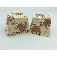 Buy cheap Red Rose Flower Floral Square Cupcake Liners Muffin Case Decoration Food Grade Paper product