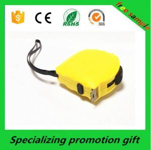 Three control button yellow Retractable Tape Measure 7.5M / 10M