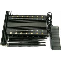Wholesale 14 Bands Lojack Cellular Signal Jammer Blocker Device 30-35W For Conference Center from china suppliers