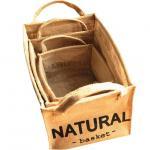 Buy cheap Folding canvas fabric storage basket organizer box from wholesalers