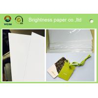Buy cheap Customized Size C2s Craft Cardboard Sheets / Reel Smoothy Surface from wholesalers