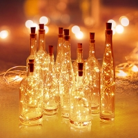 Buy cheap Cork 2M 20 LED Copper Wire Garland Wine Bottle Lights from wholesalers