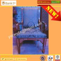(BK0109-0016C)Noble Sapphire Blue 12 Dining Chairs, Fantastic Mysterious Purple Superb Craft Royal Palace Dining Furnitu Manufactures