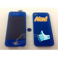 Buy cheap iphone 4 LCD with digitizer glass+back housing from wholesalers