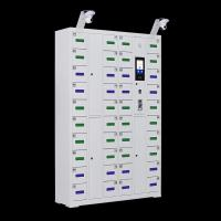Buy cheap HD Surveillance Camera Phone Charging Booth , Coin Payment Mobile Device Charging Kiosk from wholesalers
