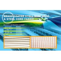 steel cord fabric 2+2×0.38HT strong steel Use for the base of raised edge conveyor belt