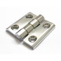 Buy cheap Cabinet Door Hinge 40*40 50*50 60*60 Bright Chrome Zinc Alloy Electric cabinet panel hinge from wholesalers