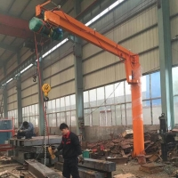Buy cheap Remote Control Lifting 6m Floor Mounted Jib Crane from wholesalers