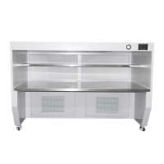 Buy cheap 155w SUS304 Horizontal Laminar Airflow Hood 100 Clean Bench from wholesalers