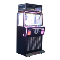 Buy cheap Arcade 2 Player Toy Crane Machine With Black Metal Cabinet from wholesalers