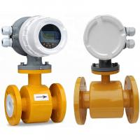 Buy cheap Sea Water Liquid Control Electromagnetic Flow Meter For Fire Pump from wholesalers