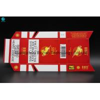Buy cheap Luxury Fancy Disposable Custom Cigarette Case / Cardboard Smoking Packaging from wholesalers