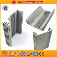 Buy cheap Building Aluminum Heatsink Extrusion Profiles Good Heat Insulation Performance from wholesalers