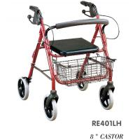Buy cheap RE403L Push-down Rollator, Walker from wholesalers