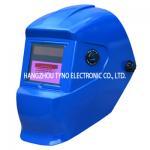 Buy cheap Blue CE ANSI Auto Darkening Welding Helmet Solar Powered from wholesalers
