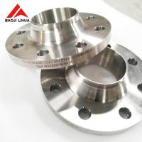 Buy cheap 150# 300# Titanium Weld Neck Pipe Flanges 3'' 5'' For Chemical Industry from wholesalers