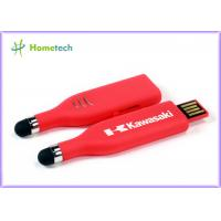 Buy cheap Touch Pen USB Flash Drive , Red High Capacity USB Memory Stick from wholesalers