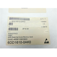 Buy cheap 4MB/8KB PM6 6DD1610-0AK0 Simadyn D Flash Memory Card from wholesalers