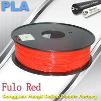Wholesale 1.75 / 3mm Fluorescent Filament   PLA Fluo filament  bright color filament from china suppliers