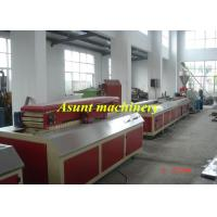 PVC Board / Door Plate WPC Profile Machine Double - screw 380V Manufactures