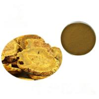 Buy cheap Brown Yellow Fine Rhubarb Root Powder Rhubarb Extract Powder TLC Test from wholesalers