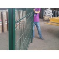 Buy cheap 3D PVC Coated Welded Wire Mesh Fencing Color Customized CE Approved from wholesalers