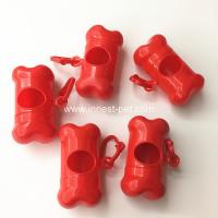 Wholesale Promotional Gift Bone-shaped Dog Poop Bag Holder from china suppliers
