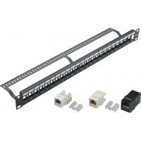 Anti Rust Patch Panel Patch Cord / Loaded Horizontal Patch Panel Waterproof YH4018