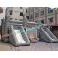 Buy cheap Kids Commercial Inflatable Bouncer Slide , Outside Magic Castle product