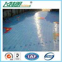 Buy cheap Portable Outdoor Rubber Interlocking Gym Flooring Tiles 2500N Suspended Sports Flooring Surfaces from wholesalers