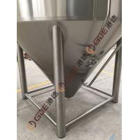 6 Meters Tall 160HL Stainless Steel Beer Fermenter , Beer Fermentation Tank Manufactures
