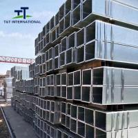 Buy cheap 1020 Galvanized Steel Square Tubing Uniformed Structure ERW Technique from wholesalers