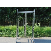 Buy cheap Kitchen Equipment 0.5mm FDA Stainless Steel Rack Trolley from wholesalers