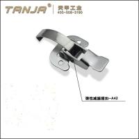 Buy cheap TANJA A42 galvanized steel buckle spring loaded toggle latch fastener from wholesalers
